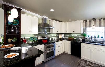 Houzz Prizewinners Take Their Kitchen From 'Atrocious' to 'Wow'