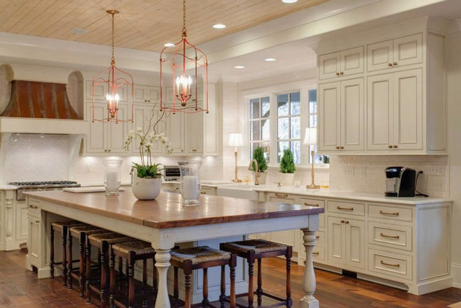 Transitional Kitchen by HUNTLEY DESIGN BUILD INC