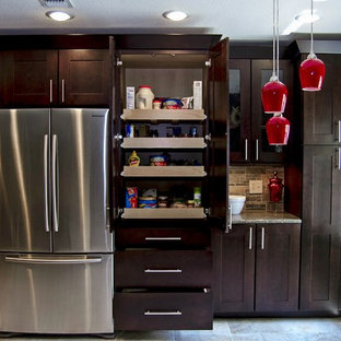 how to install a kitchen cabinet on the wall espresso stain houzz 9909