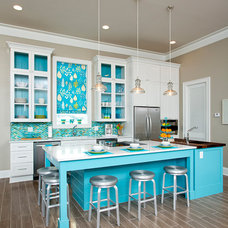 Beach Style Kitchen by National Kitchen & Bath Association