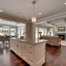 Traditional Kitchen by TC Homebuilders Inc