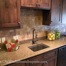 Modern Kitchen by Old World Stone Imports
