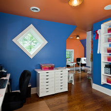 Modern Home Office by Witt Construction