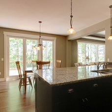 Traditional Kitchen by Koetje Builders Inc