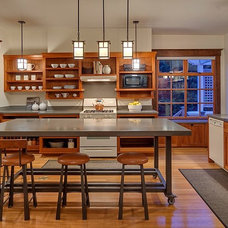 Traditional Kitchen by Rosichelli Design
