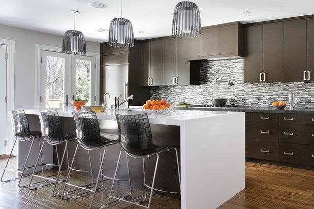 Contemporary Kitchen by KBK Interior Design