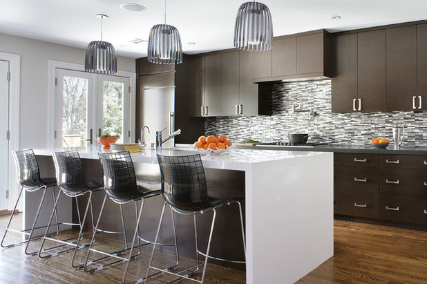 Contemporary Kitchen by KBK Interior Design