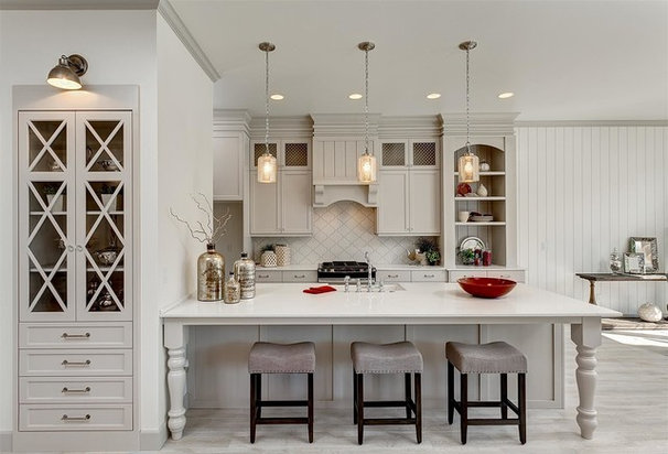 Traditional Kitchen by Clark & Co Homes