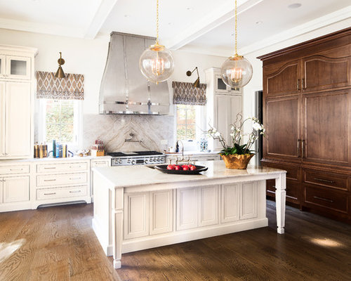 Marble Slab Backsplash Houzz