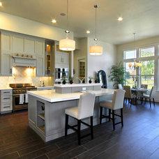 Transitional Kitchen by Innovative Custom Homes