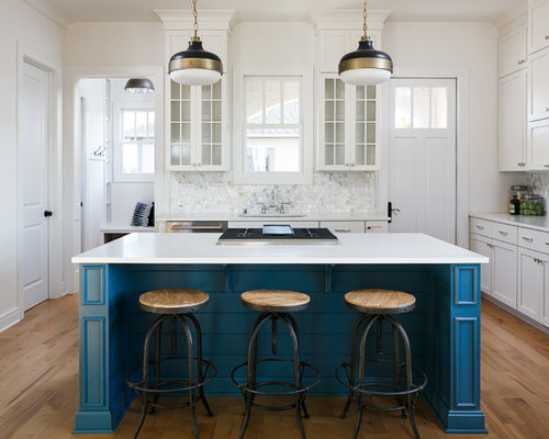 Mid Sized Galley Kitchen Design Ideas Remodel Pictures