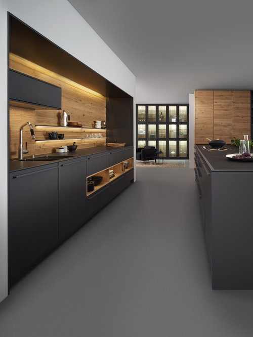 183 243 modern kitchen design ideas remodel pictures houzz for Modern kitchen design