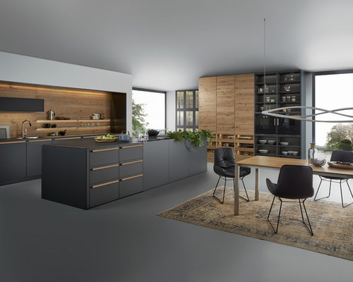Our 25 Best Large Modern Kitchen Ideas Decoration Pictures Houzz