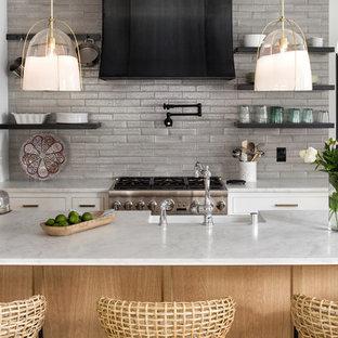 75 Mediterranean Kitchen Design Ideas - Stylish Mediterranean ...