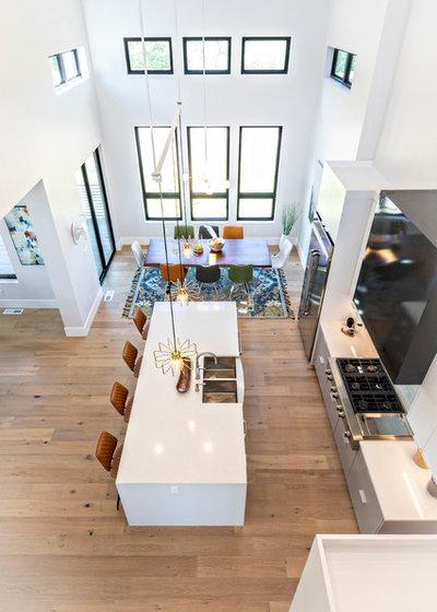 Minimalistisch Küche by Davies Design Build
