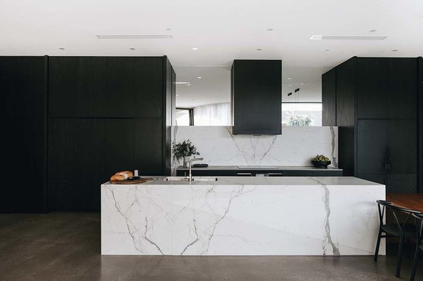 Contemporary Kitchen by Alby Turner and Son