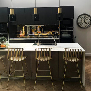 2019 Black and Gold Kitchen Trend