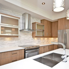 Contemporary Kitchen by Masterplan Residential Drafting and Design