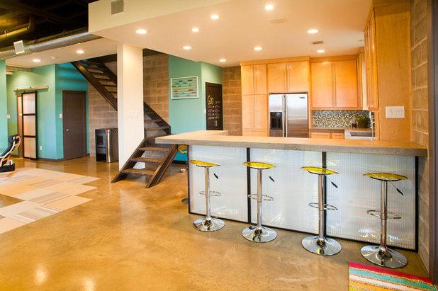 Modern Kitchen by Modern Craft Construction, LLC