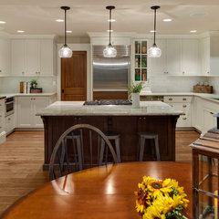 traditional kitchen by Shuffle Interiors