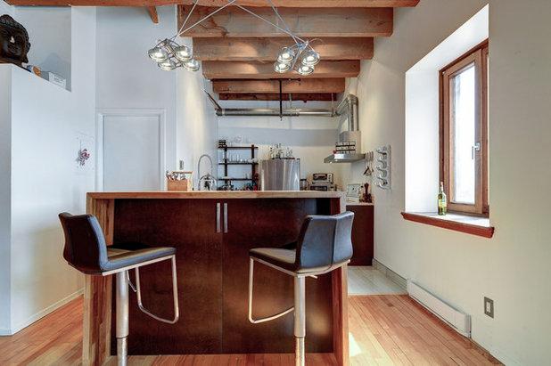 Industrial  Küche by Big Panda Design