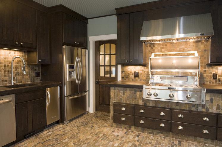 Craftsman Kitchen by Shane D. Inman