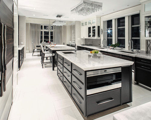 Kitchen design ideas renovations photos with metal for Boro kitchen cabinets inc