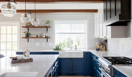 A Farmhouse Kitchen for One Cook or a Crowd