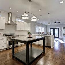 Craftsman Kitchen by Level Craft Construction