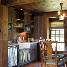 Farmhouse Kitchen by Our Town Plans