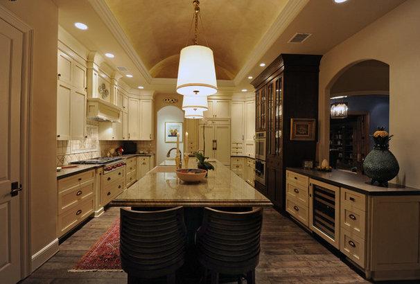 Mediterranean Kitchen by Herridge & Assoc., Inc.