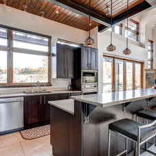 Contemporary Kitchen by Pinnacle Mountain Homes