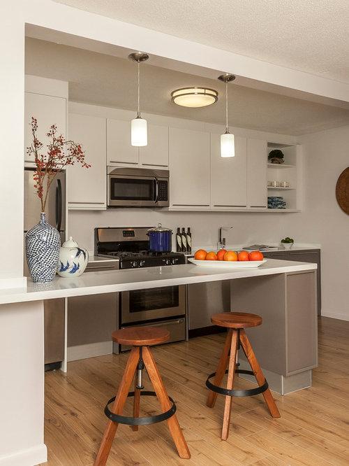 Cuisine petit budget avec un vier int gr photos et id es d co de cuisines - Cuisine petit budget ...