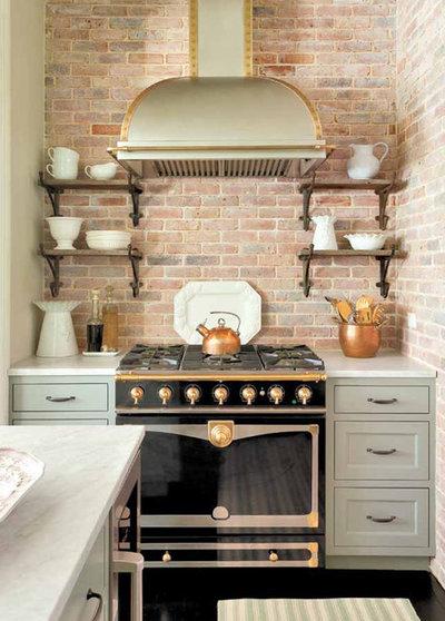 Traditional Kitchen by Promenade Design + Build