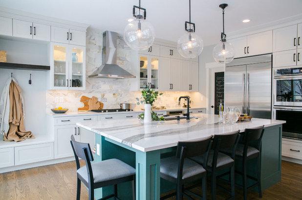 Transitional Kitchen by TVL Creative Ltd.