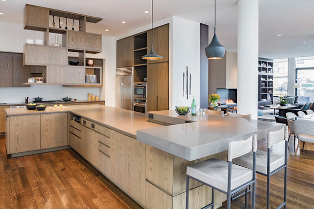Contemporary Kitchen by Adriana Solmson