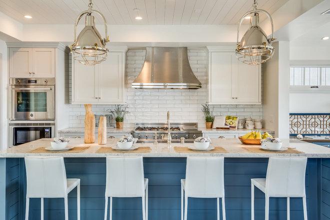 Beach Style Kitchen by Titan & Co.
