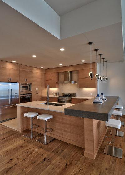 コンテンポラリー キッチン by Maric Homes & Renovations