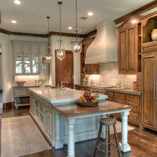 Traditional Kitchen by Rice Residential Design