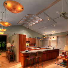 Eclectic Kitchen by Escent Lighting