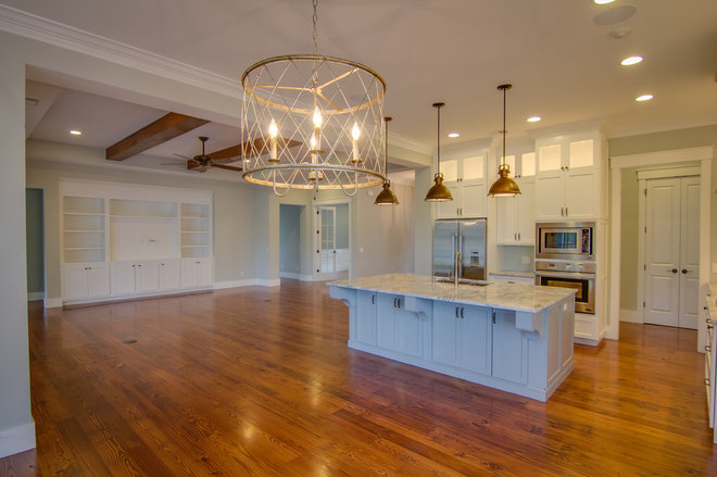 Traditional Kitchen by Brighton Builders,LLC