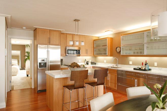 Contemporary Kitchen by David Henig, Architect