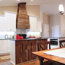 Rustic Kitchen by Alabama Remodeling Excellence Awards