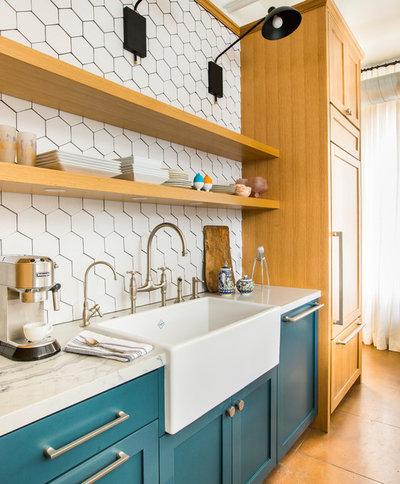 Contemporary Kitchen by McCraw Design & Development