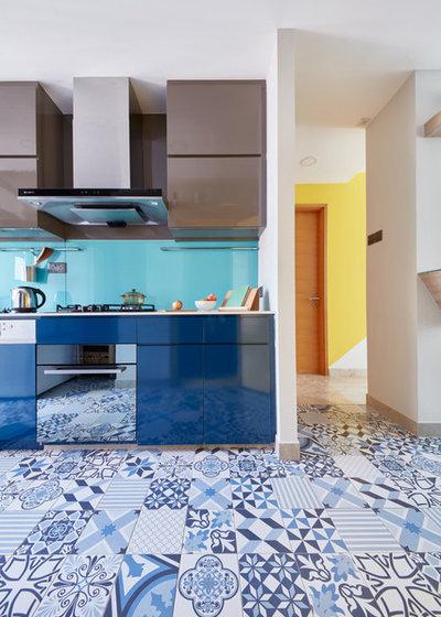 コンテンポラリー キッチン by Free Space Intent