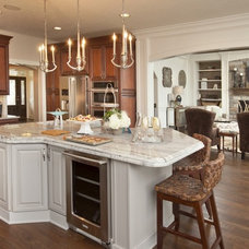 Traditional Kitchen by Couture Design and Staging