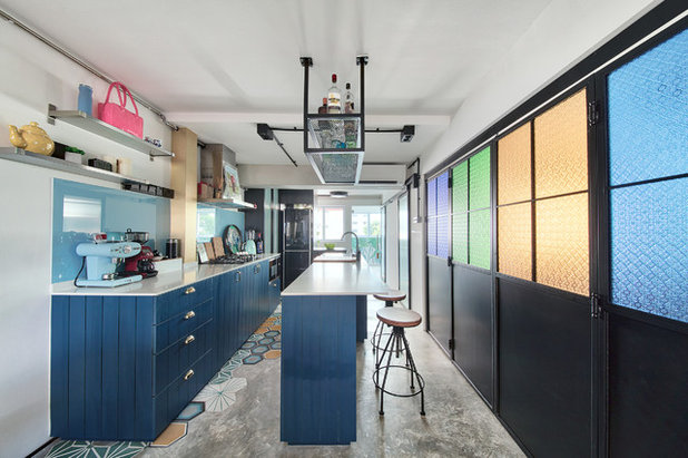 Eclectic Kitchen by Free Space Intent