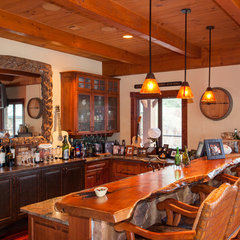 traditional kitchen by Texas Timber Frames