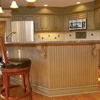30 Year Old Kitchen Makeover - Traditional - Kitchen - Atlanta - by Beauti-Faux Interiors