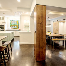 Transitional Kitchen by C-Reese Architectural Design